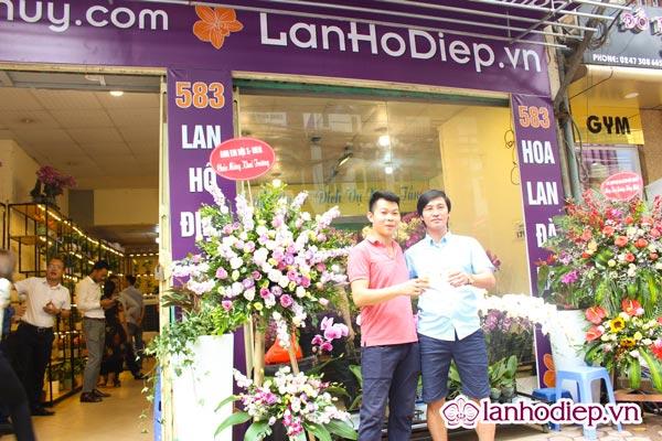 Siêu thị hoa lan cơ sở tại 583 Hoàng Hoa Thám, Ba Đình, Hà Nội